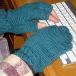 My 2010 fingerless gloves