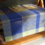 Fabric on loom