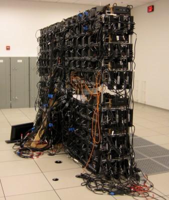 Student-built supercomputer at the National Petascale Computing Facility