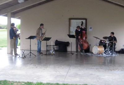 Bluesnik performing at the 2011 Meadowbrook Jazz Walk
