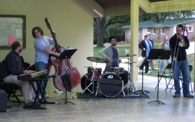 Peter and the Wolves performing at the 2011 Meadowbrook Jazz Walk