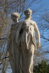 Statue of the Three Graces at Allerton Park