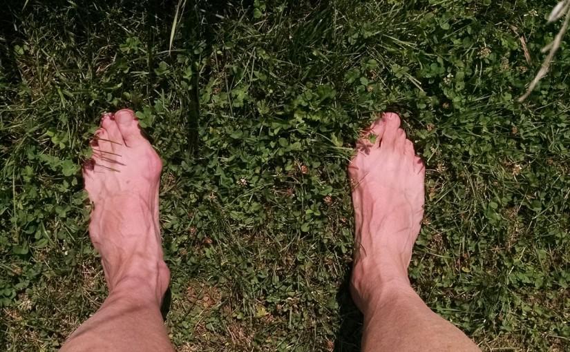 Barefoot walking (and a little running)