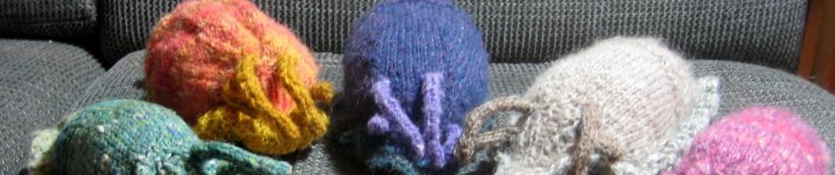 Knitted Slugs