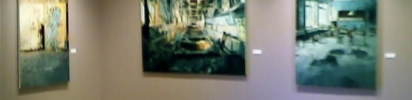 Morgan Craig at the Parkland Art Gallery