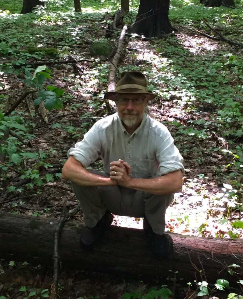 Anybody who talks about natural movement needs a picture of themselves squatting on a fallen tree in the forest.