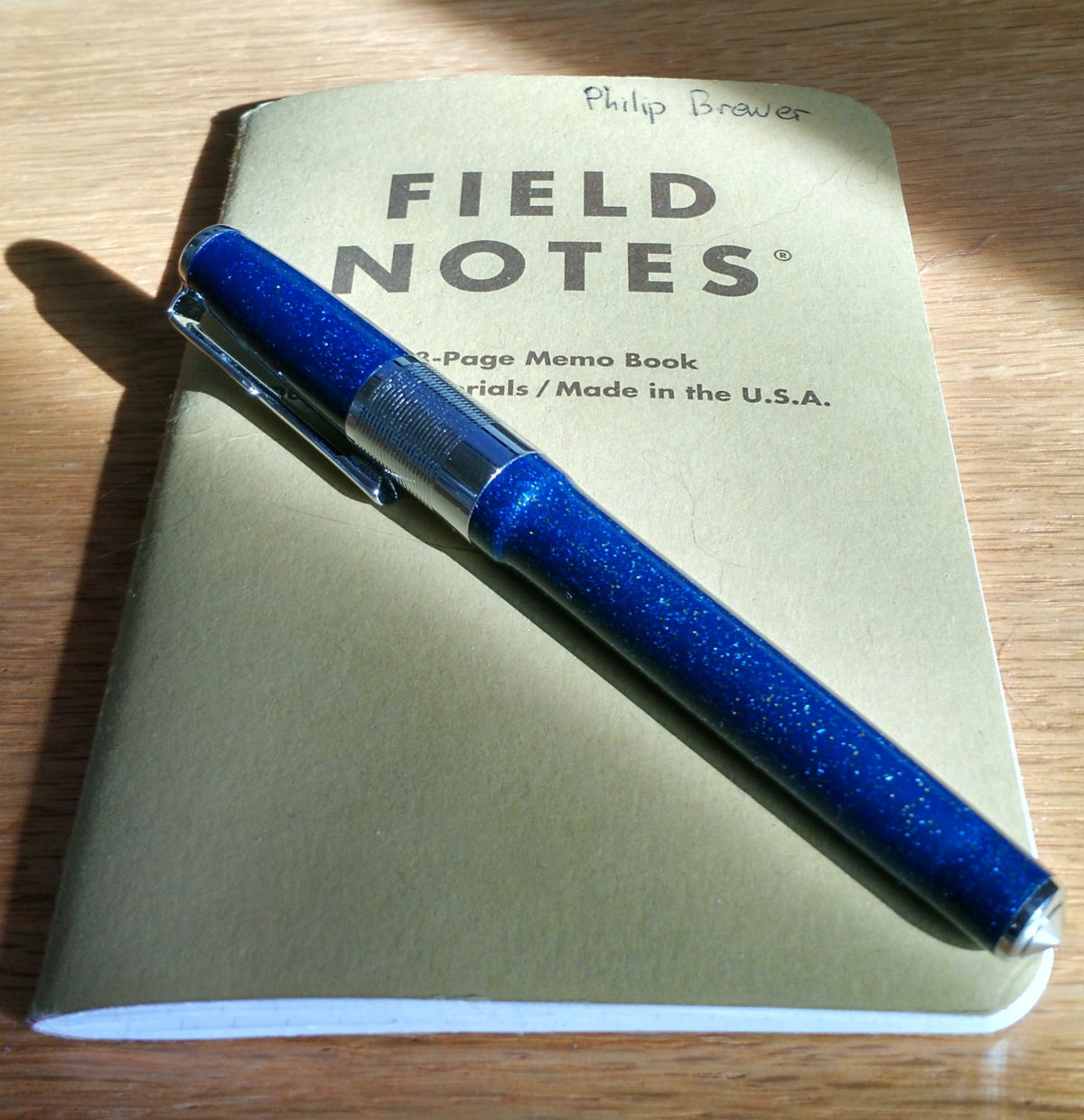 Field Notes RSS feed!